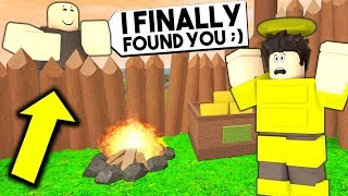 I Found A STALKER Hidden In My Base.. What He Did WILL SHOCK YOU! (Roblox Booga Booga)