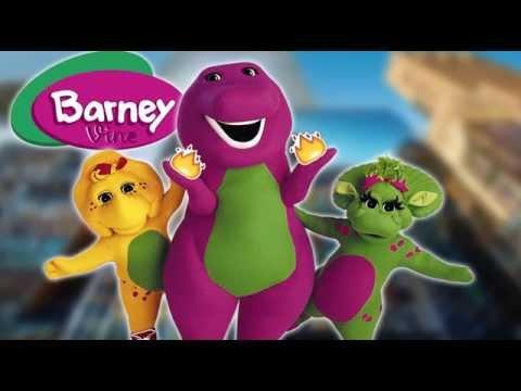 I Love You B#tch Barney Remix Vine (Full Version)