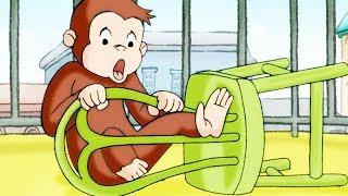 Georges le Petit Singe 🐵Georges Pompier! 🐵Saison 1 🐵Dessin Animé 🐵Animation Pour Enfants