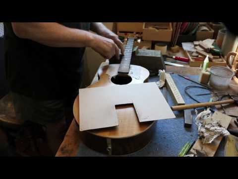Tenor Guitar Re-fret - Part 2