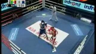 Vasyl Lomachenko vs Oscar Valdez - World Boxing Championships Milan 2009, Semifinal 57 kg (Part 1)