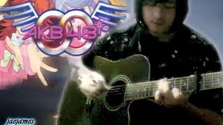 arranged and played by me acoustic guitar solo ヘビーローテーション Heavy Rotation (Episode 4 insert song) AKB0048 Anime Version original by AKB48 Heavy ...