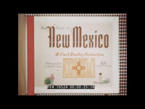 1940s NEW MEXICO TRAVELOGUE   SANTA FE  76524