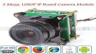 3mp 1080p high definition ip board camera module ipq2218x cloudy day shooting effect