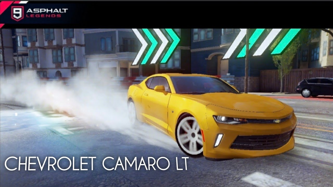 Asphalt 9 legends chevrolet camaro lt