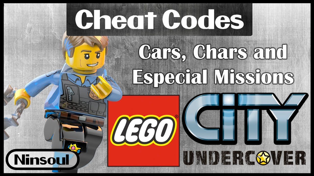 Lego City Undercover Special Cheat Codes In Description Youtube
