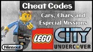 Lego City Undercover - Special Cheat Codes in Description.