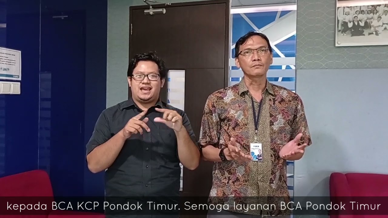 BCA KCP Pondok Timur Bekasi | 7 Juni 2021 - YouTube