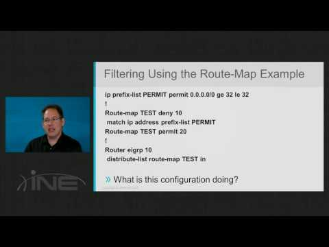 23 EIGRP Route Filtering Using Route Maps