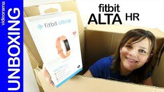 FitBit Alta HR unboxing