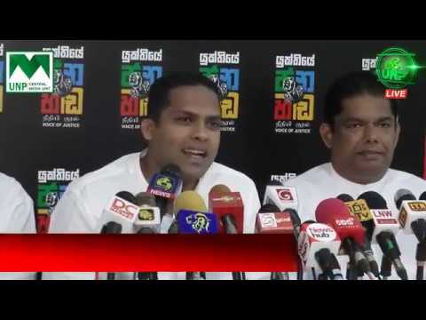 Manusha Nanayakkara resigns from UPFA government, joins UNP & reveals journalist abduction cases