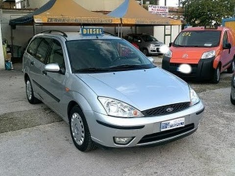 ford focus station wagon anno 2001
