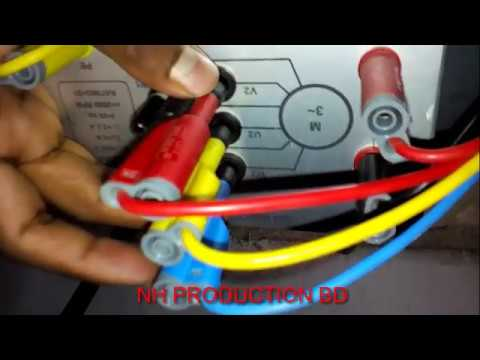 delta Connection 3 phase induction motor tutorial on
