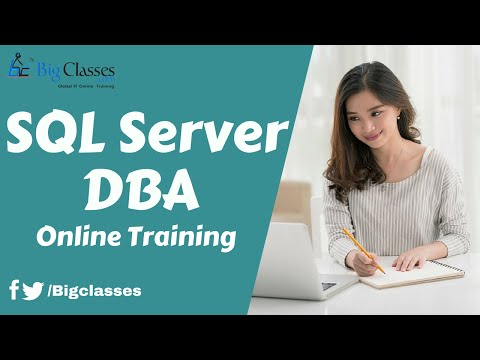 SQL Server DBA Online Training | SQL Server DBA Tutorial for Beginners