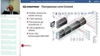 Базовое обучение оборудованию Crestron.