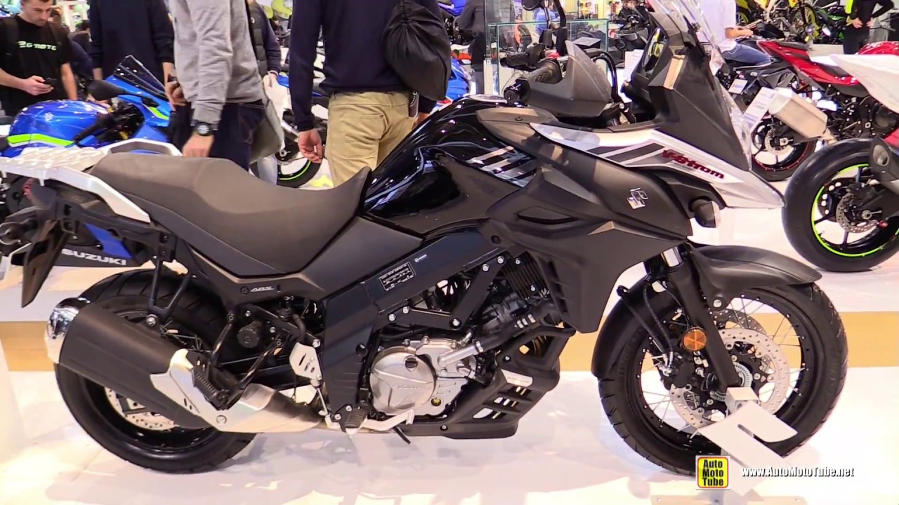 2017 suzuki v strom 650 xt abs walkaround 2016 eicma. Black Bedroom Furniture Sets. Home Design Ideas