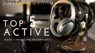 Video Top 5 BEST Wireless Active Noise Cancelling Headphones ! download MP3, 3GP, MP4, WEBM, AVI, FLV Juli 2018