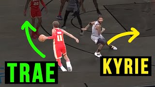 Trae Young EMBARRASSES Kyrie Irving & Becomes A SUPERSTAR