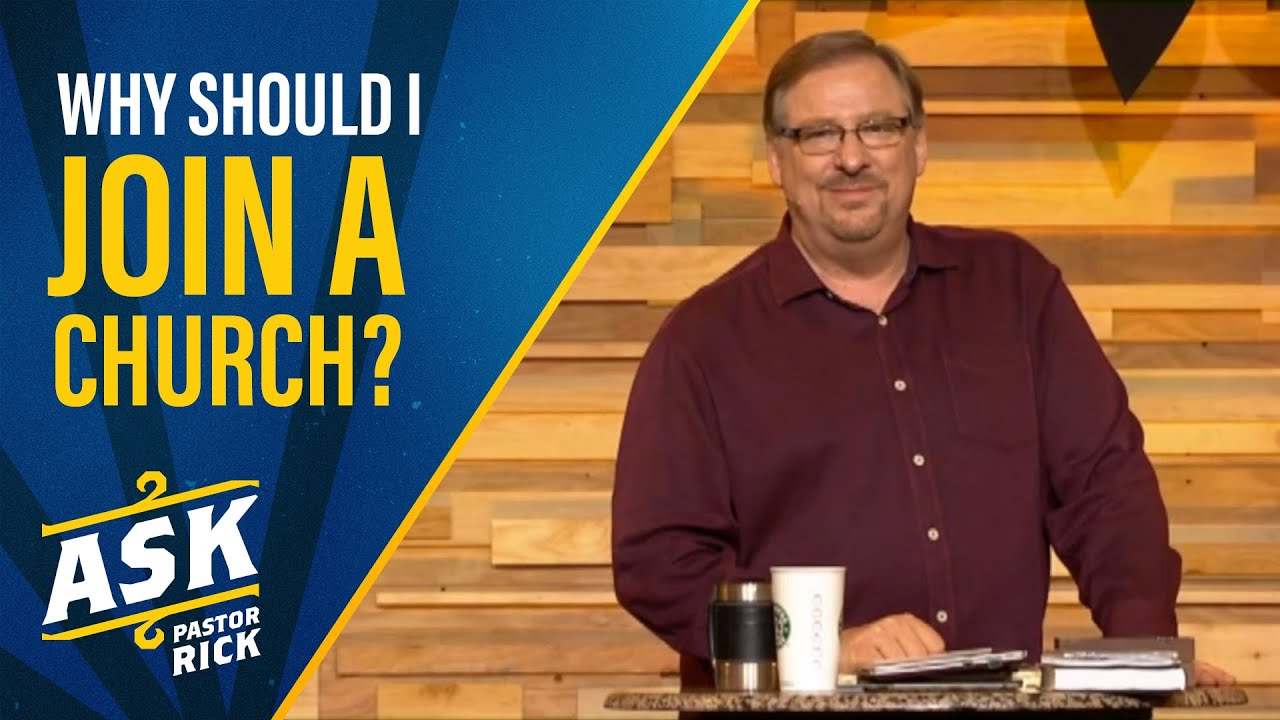Why Should I Join A Church? (Live Your Calling)