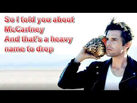 The Killers - Out Of My Mind (Lyrics)