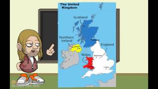 England, How it is: Geography of the UK