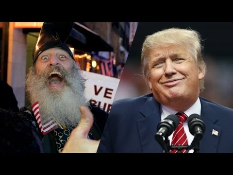 da90ebb01ee Vermin Supreme Says He  Paved The Way For Donald Trump  - Newsy - YouTube