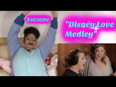 Voctave- Disney Love Medley Reaction I seriously  for DISNEY