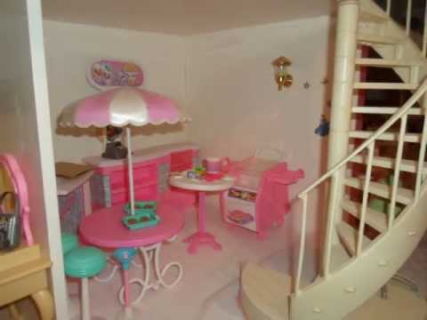 Casa de mu ecas barbie alicia martinez youtube - Casas de munecas ...