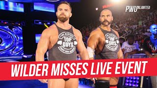 Dash Wilder Misses Live Event Due To Injury