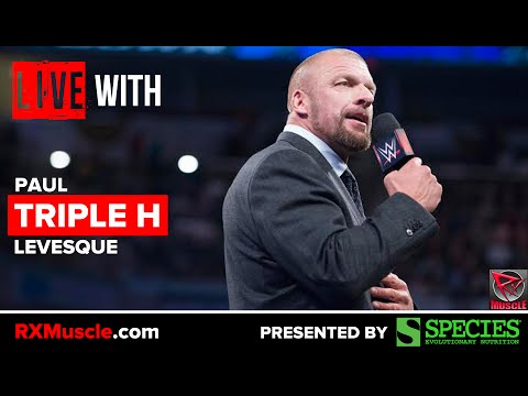 Triple H Uncensored! Interview with WWE Superstar Triple H on RXMuscle.com