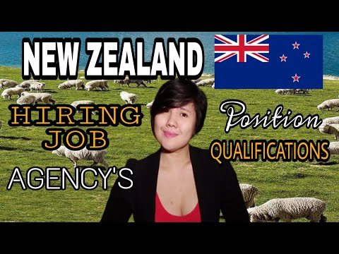NEW ZEALAND JOB FOR FILIPINO URGENTLY HIRING  2019 | ACRED AGENCY | POSITION | VACANCY