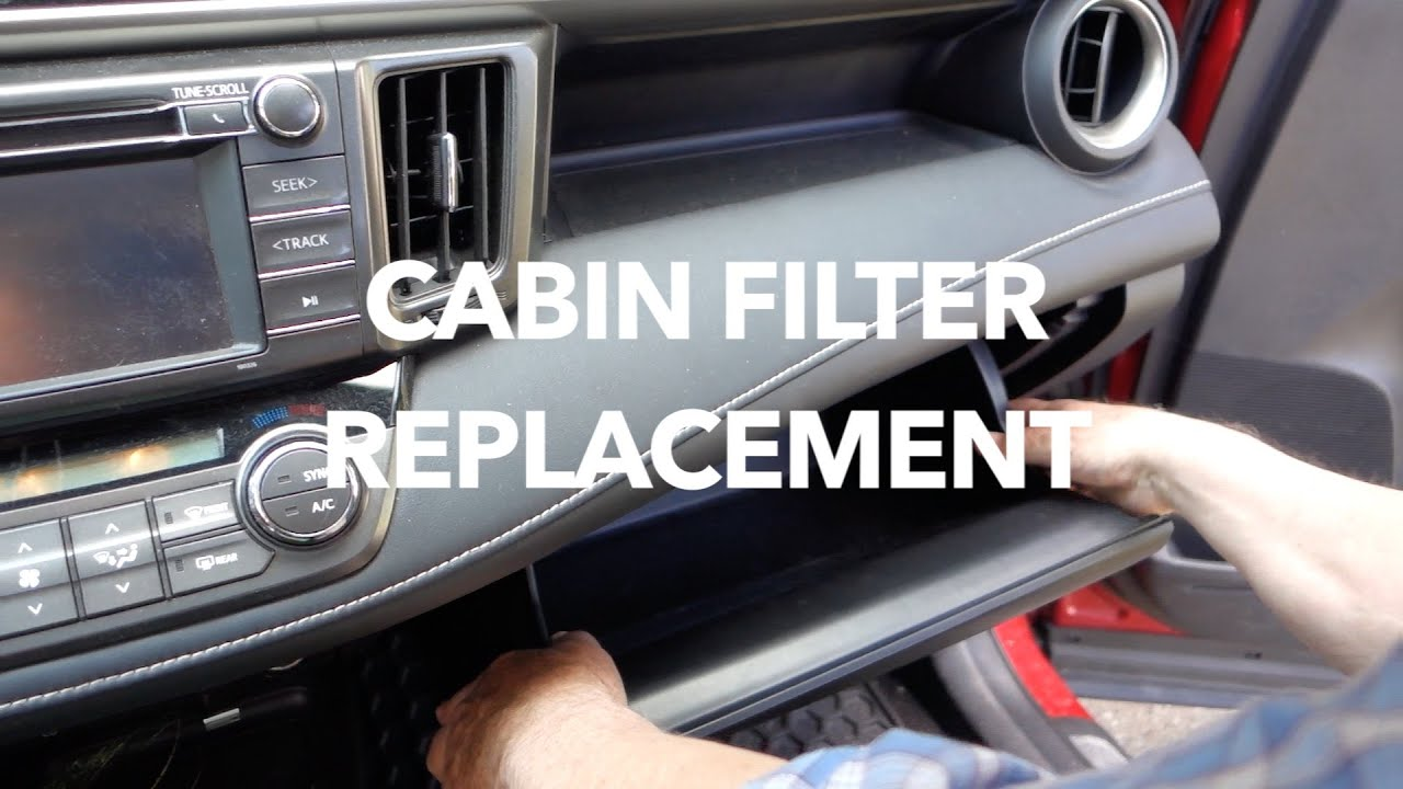 Watch on toyota cabin air filter replacement