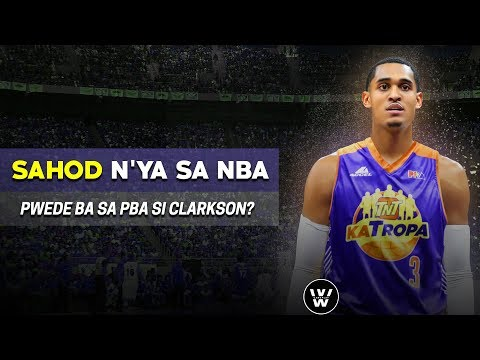 Ang SAHOD ni Jordan Clarkson sa NBA | Pwede ba siya Maglaro sa PBA?