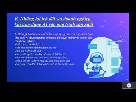 Bài tập nhóm môn TIN HỌC VĂN PHÒNG - Đề tài: TRÍ TUỆ NHÂN TẠO VÀ CÔNG NGHIỆP 4.0
