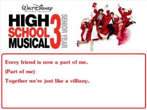 HSM3 - Just Getting Started - WITH LYRICS!