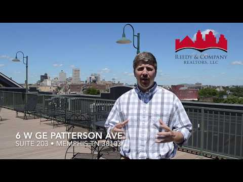 6 W GE Patterson • Downtown Memphis Tennessee Rental Property