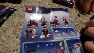 LEGO Harry Potter and Fantastic Beasts Minifigures Unboxing - Dumbledore, Invisibility Cloak