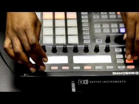 Terrence Dixon using Maschine (Never Released)