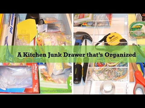 Imagine a Kitchen Junk Drawer That Stays Organized – Part 2 (of 2)