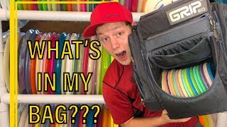 IN MY BAG + ALL THE DISCS I OWN!!