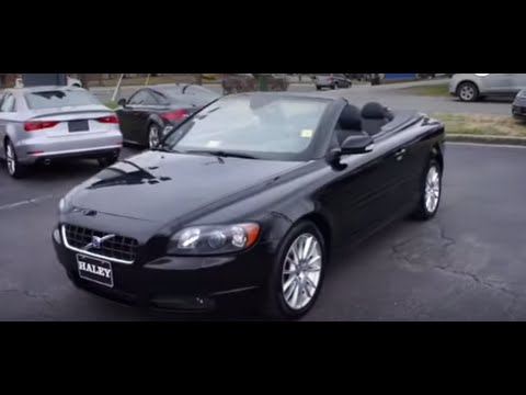 2007 volvo c70 t5 walkaround start up tour and overview youtube. Black Bedroom Furniture Sets. Home Design Ideas