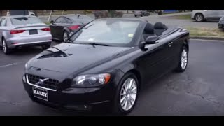 2007 Volvo C70 T5 Walkaround, Start up, Tour and Overview