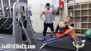 Decline Cable Crunches