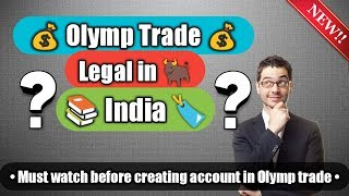 Olymp trade legal in india? (Hindi),is it safe to trade on Olymp trade?