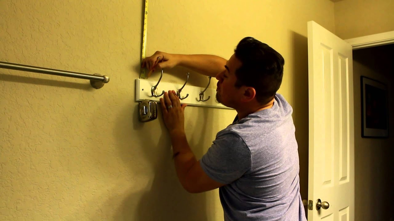 How To Hang A Coat Rack You, How To Hang Coat Hanger On Wall