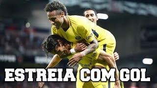 Primeiro gol de neymar no psg / barcelona / santos e seleÇÃo