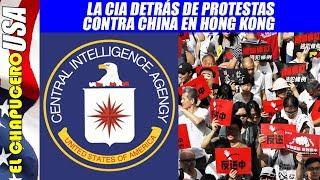 Contraataca EU! Crea disturbios sociales en territorios chinos