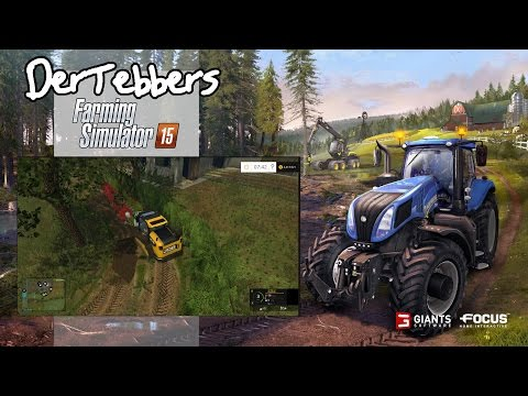 Farming Simulator 15 - Pennsylvania Life - 001 - I'm Stuck!