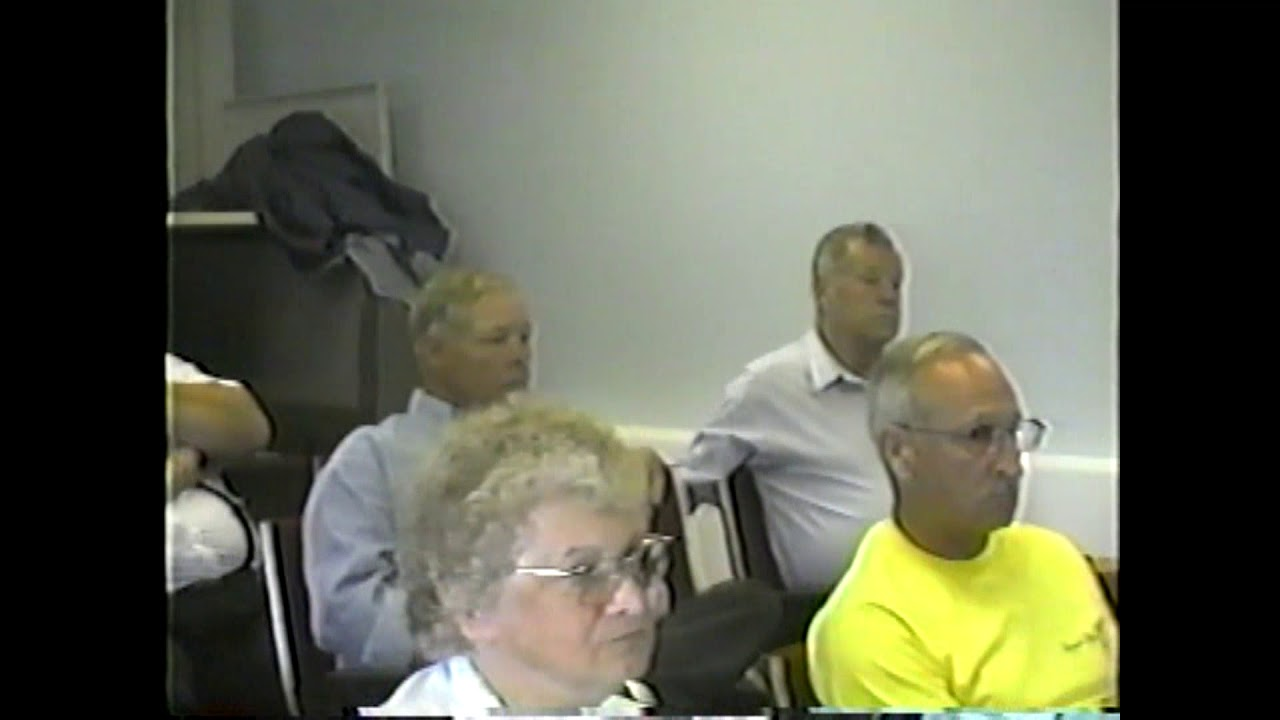 Champlain Town Zoning Meeting  6-17-04