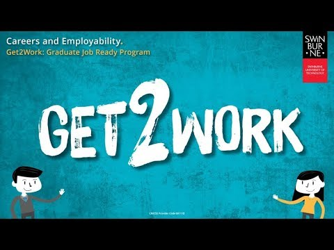 Get 2 Work - Graduate Job Ready Program